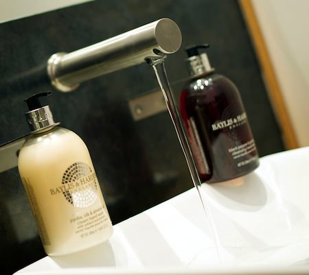 photo of toiletries
