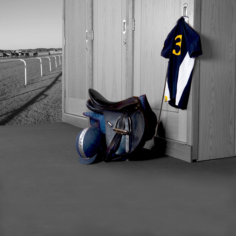 Photo of saddle outside a Hullabaloo