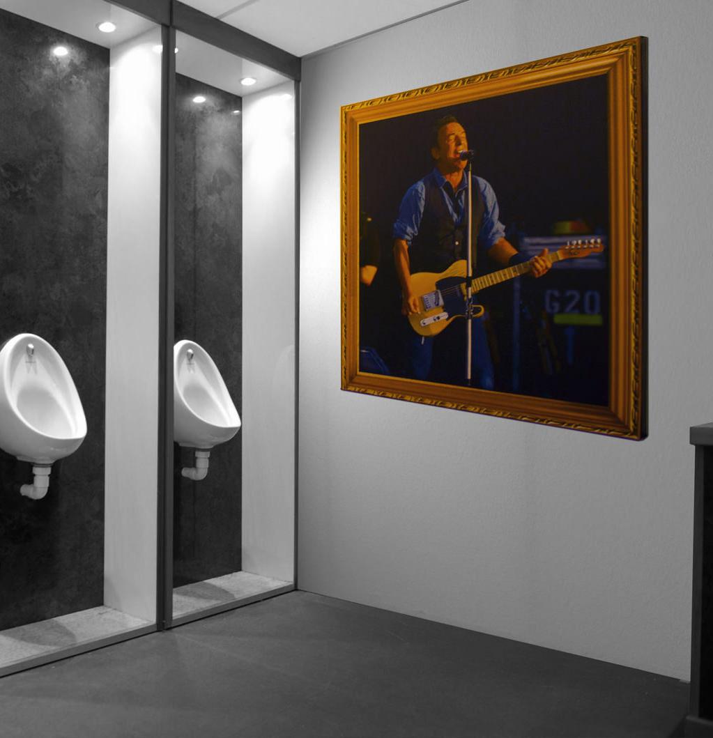 photo of Hullabaloo and rock poster